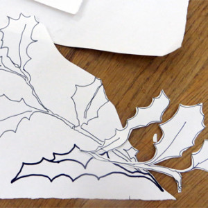 A guided process to produce seasonal drawings. Drawing from observation, careful cutting, collage and colour.