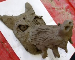 "This resource explores how to make an armature and use clay slab to build a form. Based upon the legend of ""Black Shuck"", a ghostly dog that roams the coast searching for its drowned masters, this project engaged the children and resulted in charismatic sculptures, but you could equally transfer the activity to other themes."