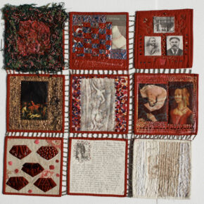 Surface-Decorated & Embroidered Research Quilts