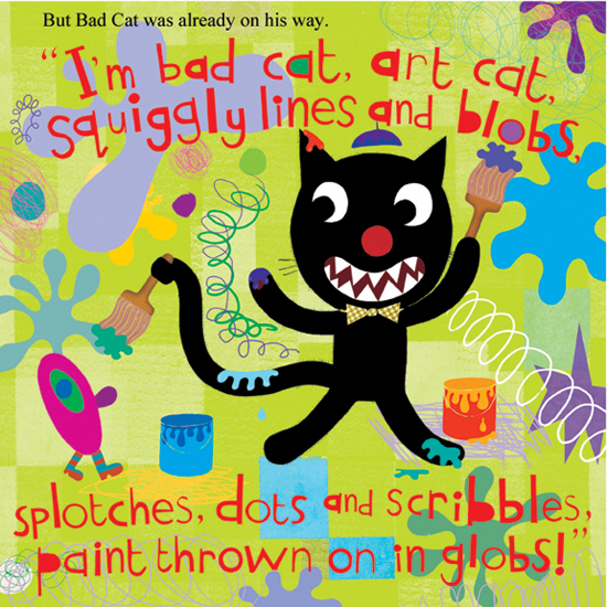 Bad Cat: Inspiration for Art Week