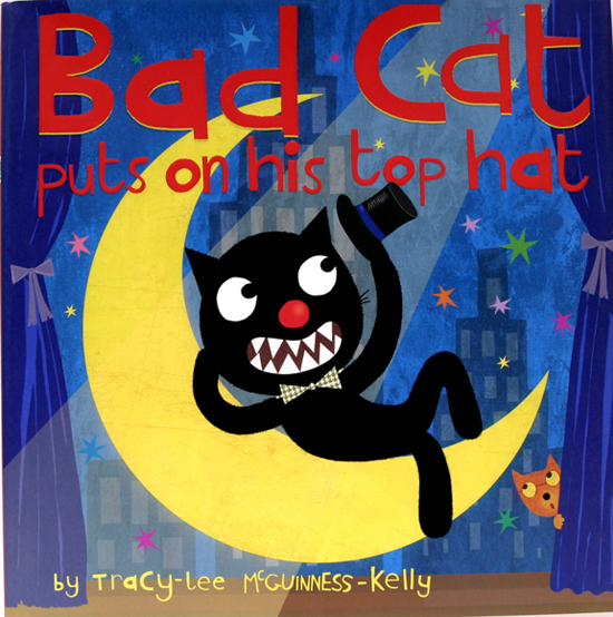 Inspiration for Art Week Bad Cat by Tracy Kelly McGuinness