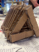 Constructing with cardboard