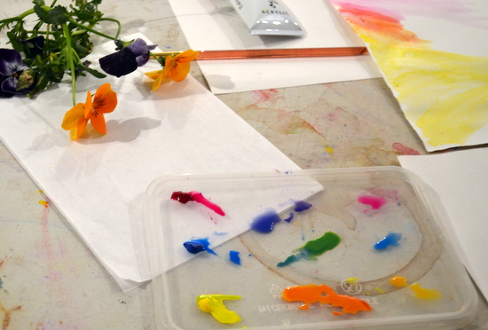 "A colour mixing project inspired by the paintings of Winnifred Nicholson.  Teenagers are encouraged to experiment and respond intuitively to the challenge of mixing colours, to create paintings in gouache of fresh spring flowers. [themify_button style=""xlarge block"" link=""https://www.accessart.org.uk/colour-mixing-with-cyan-magenta-and-yellow/"" color=""#78608e"" text=""#ffffff""]Read More[/themify_button]"