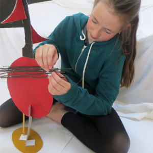 Making sculpture inspired by Ben Nicholson's drawings