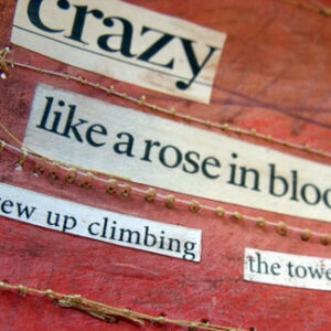 Creating poetry using found words