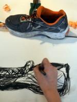 Ingo's shoe