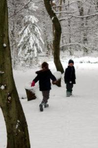 Wild Imagination - Children in the snow