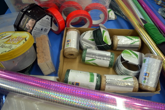 Materials for mixed media sculpture and construction