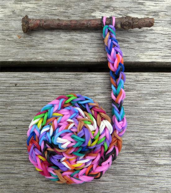 loom bands spiral