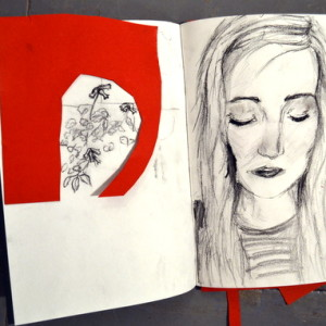 This exciting project explores the idea that sketchbooks can be used as a tool to generate sketches and gather visual ideas for later use. Teenagers take it in turns 'drawing someone drawing something,' making a series of quick observations from the environment around them and then use the information gathered to make a series of collages.