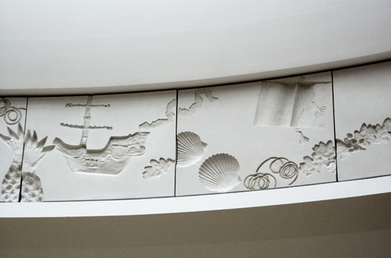 Detail from Kathy Dalwood public artworkSt Davids Shopping Centre Cardiff
