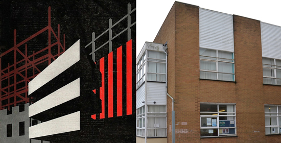 1960s graphics and local architecture