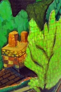 Details of Emma's Landscape Relief Exemplar
