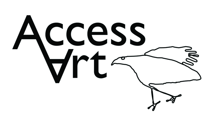 Please use our logo (or a text link) to link to www.accessart.org.uk from your personal, organisation or school website, or facebook page. If you are able to feature our logo on any printed matter, pls contact us and we can send you a high res image.
