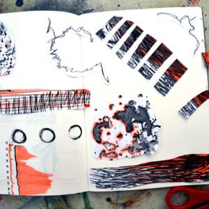 developing sketchbook pratice