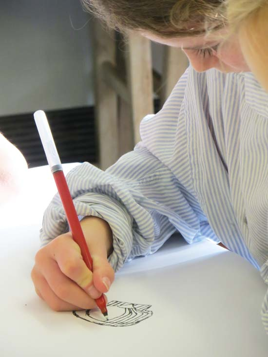 Drawing to collect information