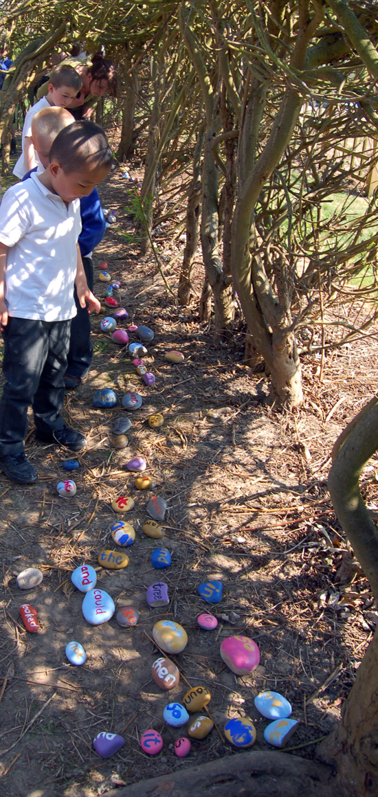 """Literacy Boost Project: """"James &The Giant Peach Garden"""" by Cordelia Spalding"""