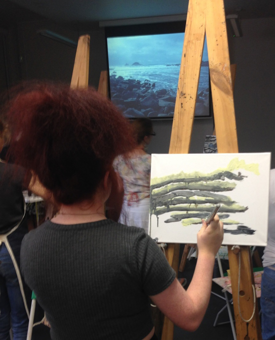 Artist and educator Sara Dudman shares examples, inspiration and support for working creatively from video to capture movement, including that of the sea, and a sense of place in painting.