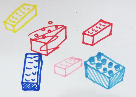 Lego sketches
