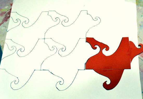 Shona's tessellated design