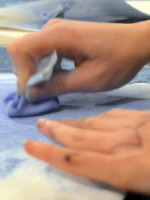 'Pouncing': A Simple Technique to Transfer Patterns onto Plaster Tablets