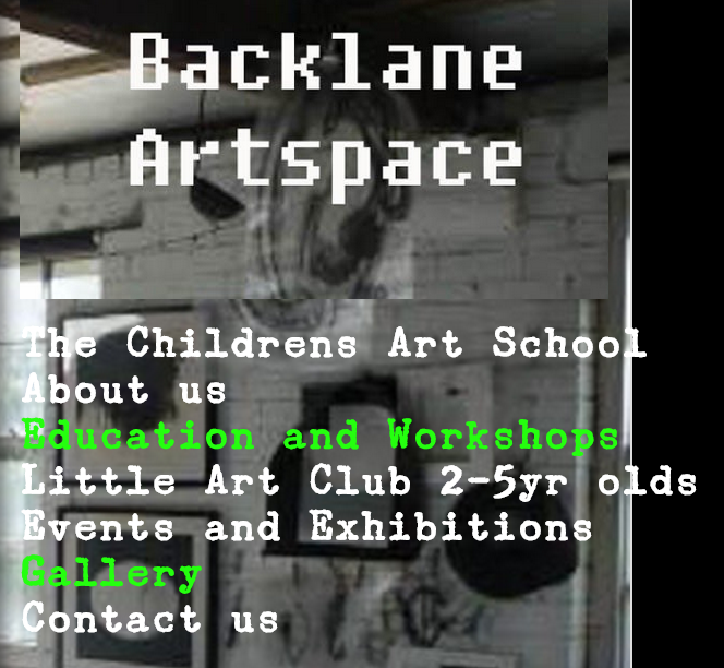 Back Lane Art Space and The Children's Art School