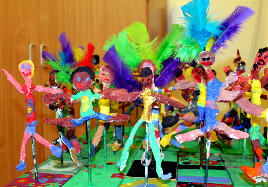 A carnival with added feathers