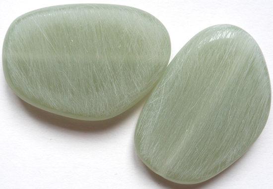 Scratched stones