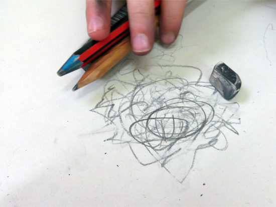 Using bundles of mark making tools