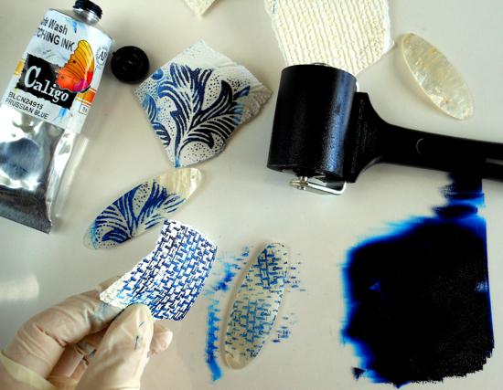 printing: printing to create pattern