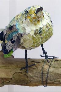 Listening bird