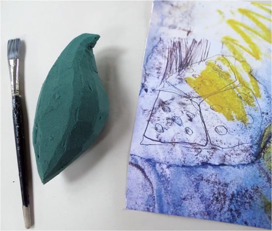 Oasis bird and chosen paper