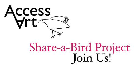 The AccessArt Share-a-Bird Project