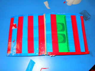 Making Elastic Band Sketchbooks with Pupils at Philip Southcote School