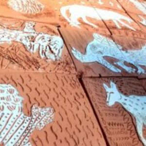 Chimera inspired clay tiles
