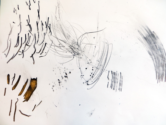 Exploring graphite - variety of marks