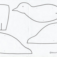 Priscilla the Puffin: Make a Simple Bird Mobile