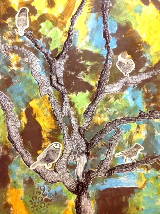 Natalie Deane Birds in the Trees
