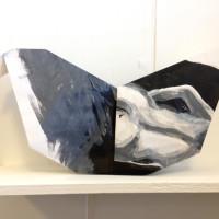 b&w origami bird melanie johns