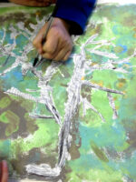 drawing trees at battyeford primary