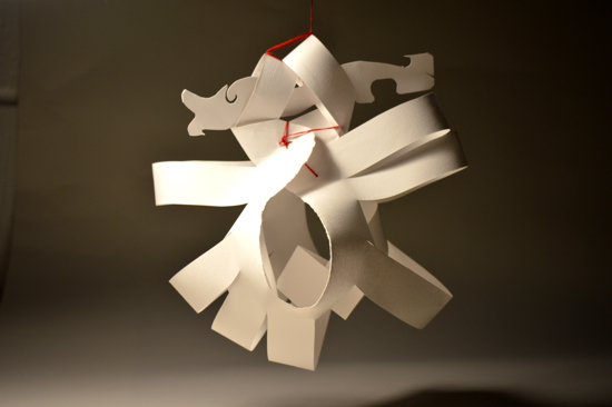 paper sculpture: sofia