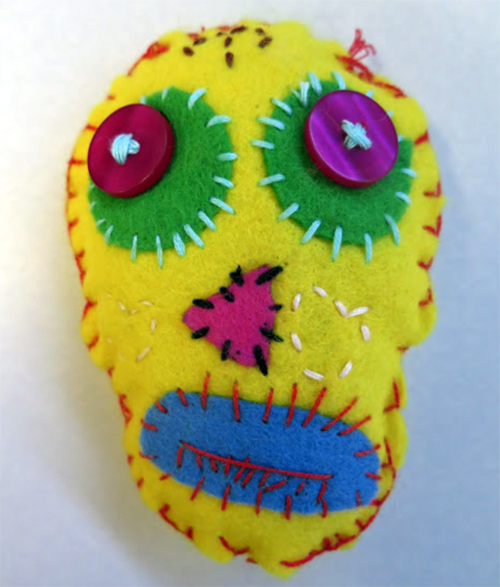 Day of the Dead Sewing Project