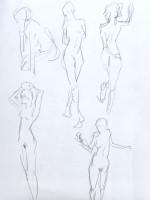 Life Drawing: Capturing Gesture by Hester Berry