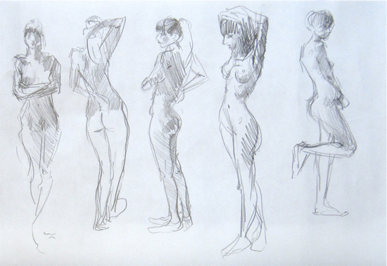 Hester provides some helpful advice along with a series of short drawing exercises, that will enable you to identify the essentials of a pose and successfully record the movement and gesture of the life model.