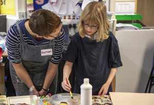 I'm a London-based artist and educator and I work with young children through to adults. My practice includes drawing, textiles, photography, sculpture and printmaking and I'm passionate about art's role in exploring learning and improving wellbeing and self-esteem.