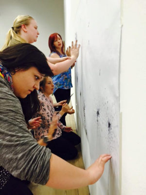 As an Associate of The Big Draw I am keen to explore drawing within all its different meanings and contexts. I run practical 'hands on' sessions on the meanings and interpretation of drawing, on drawing across the curriculum, on contemporary and performance drawing, as well as skills based workshops. My teacher network and I won a national Big Draw Award in 2015.