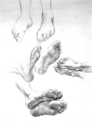 Drawing Hands and Feet