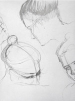 Life Drawing: Drawing the Head by Hester Berry