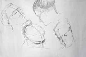 Drawing faces can be daunting, but Hester explains how you can tackle them successfully using simple and logical steps.