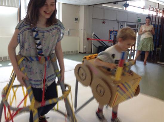 Drawing Machines at Battyeford Primary School